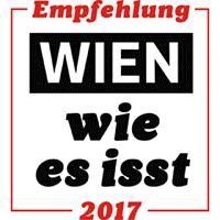 Wien, wie es isst - Empfehlung 2017